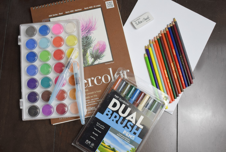 10 important art supplies for every home