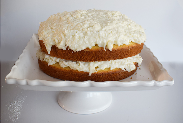 Coconut Wine Cake