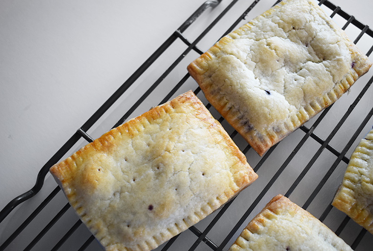Blueberry Lemon Hand Pie