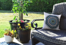 Budget Friendly Patio Refresh for less than $300!